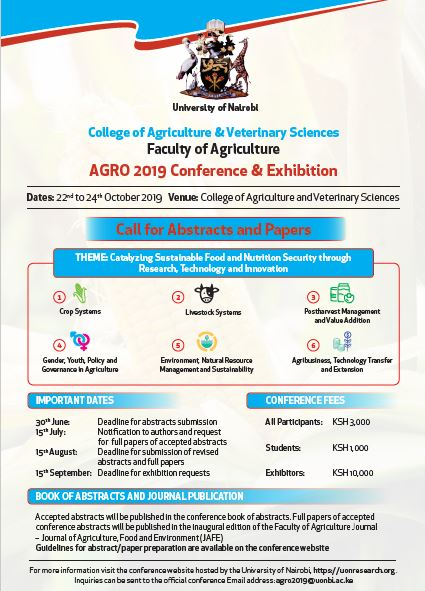 AGRO 2019 Conference & Exhibition