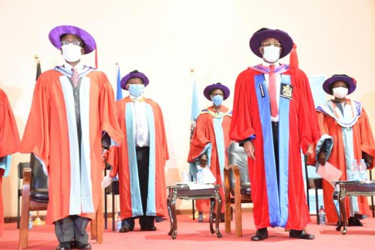 vice chancellors following national anthem rules
