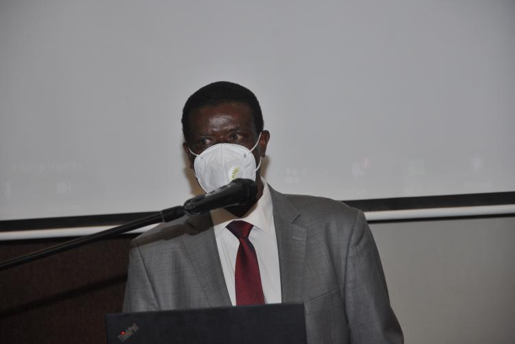 Prof. Moses Nyangito, Dean, Faculty of Agriculture