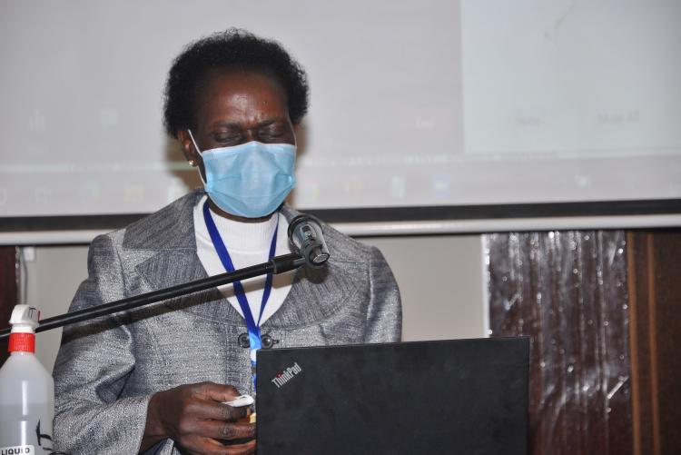 Prof. Rose Nyikal, Principal, College of Agriculture and Veterinary Sciences