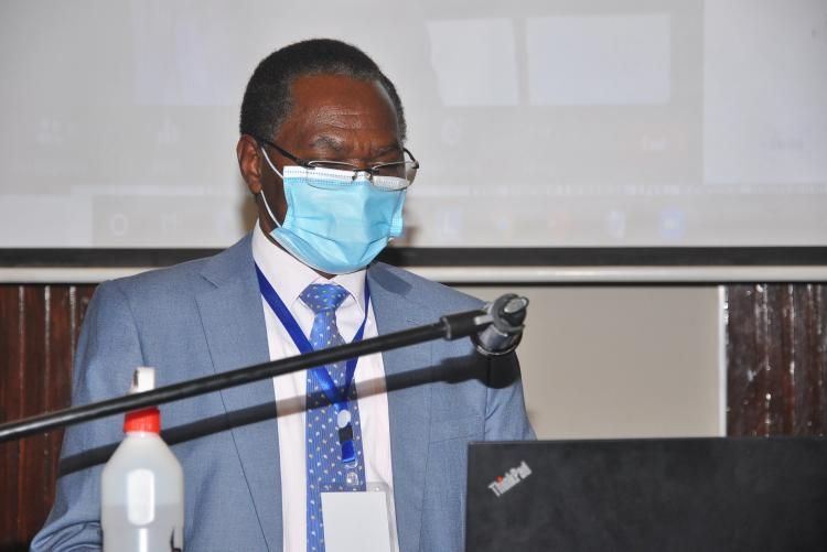 Prof. John Mburu, Chairman,  Department of Agricultural Economics